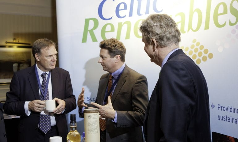 Celtic Renewables Ltd Showcase their Technology at High Impact Entrepreneurial Event in Glasgow