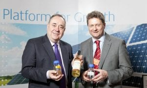 Scotlands First Minister sees Celtic Renewables Ltd's Potential First hand