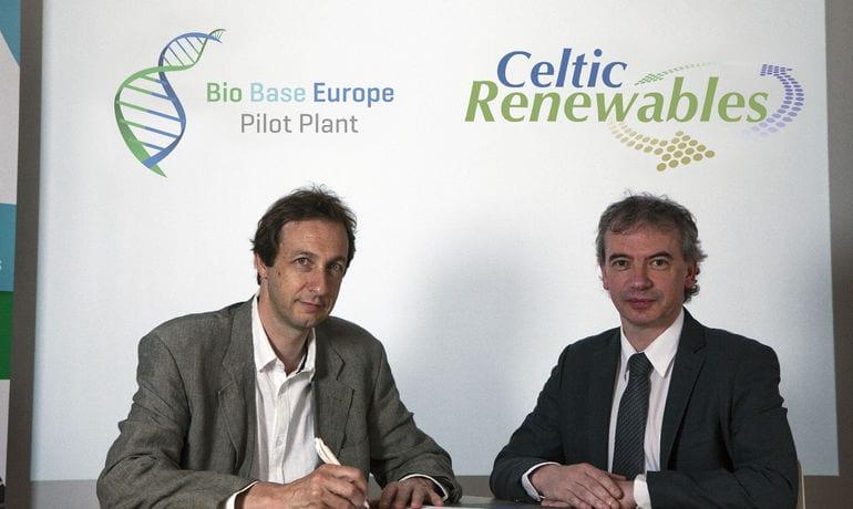 Celtic Renewables Ltd Partners Bio Base Europe Pilot Plant